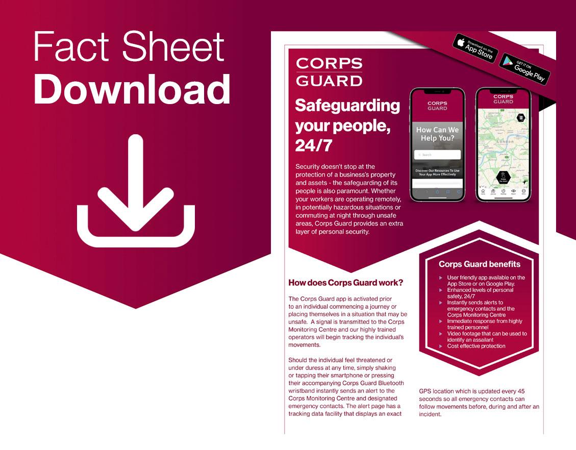 Corps Guard Fact Sheet Download